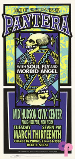 Mid-Hudson Civic Center, Poughkeepsie, NY 3/13/01
