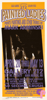Gallery 212, Ann Arbor, MI 4/20-5/13/01