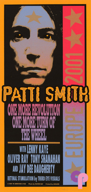 2001 Patti Smith European Tour 6/4/01