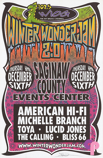 Saginaw County Events Center, Saginaw, MI 12/6/01