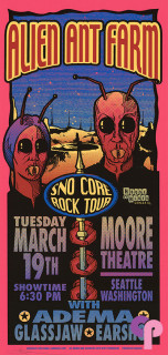 Moore Theater, Seattle, WA 3/19/02