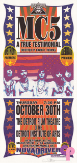 The Detroit Film Theater, Detroit, MI 10/30/03
