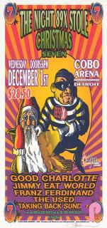 Cobo Arena, Detroit, MI 12/1/04