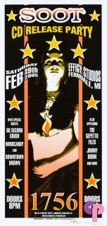 CD Release Promotional Poster 2/19/05