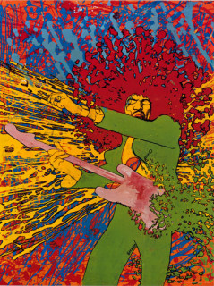 Jimi Hendrix Poster 1/1/67