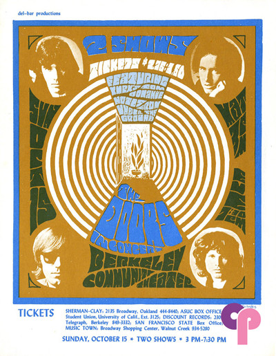 Berkeley Community Theater 10/15/67