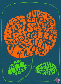 4th Annual Folk Festival at Big Sur Esalen Institute, Big Sur, CA 6/28/67