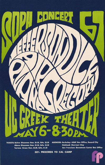Greek Theater UC Berkeley 5/6-8/67