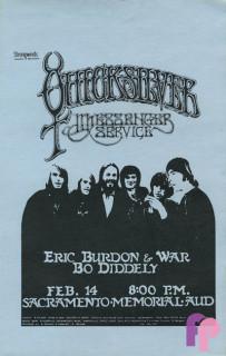 Sacramento Memorial Auditorium 2/14/70