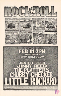 City Coliseum, Austin, TX 2/11/71