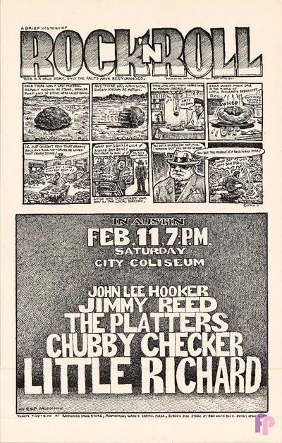 City Coliseum, Austin, TX 2/11/71
