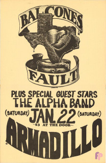 Armadillo World Headquarters, Austin, TX 1/22/72
