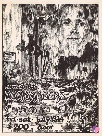 Armadillo World Headquarters, Austin, TX 7/13-14/73