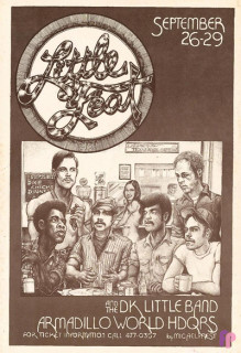 Armadillo World Headquarters, Austin, TX 9/26-29/73