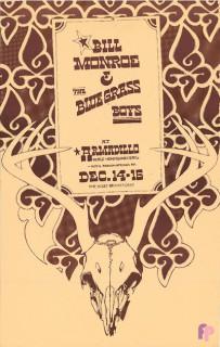 Armadillo World Headquarters, Austin, TX 12/14-15/73