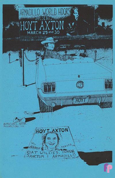 Armadillo World Headquarters, Austin, TX 3/29-30/74