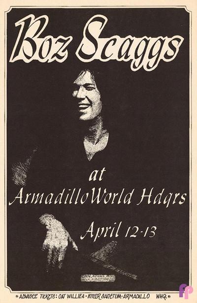 Armadillo World Headquarters, Austin, TX 4/12-13/74