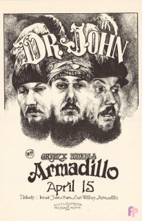 Armadillo World Headquarters, Austin, TX 4/15/74