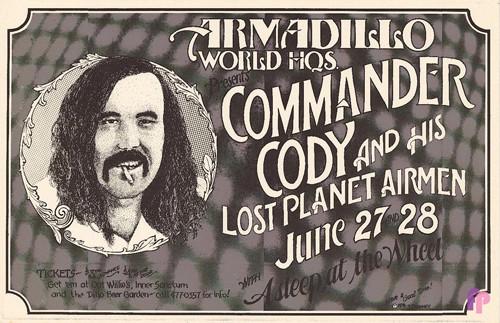 Armadillo World Headquarters, Austin, TX 6/27-28/74
