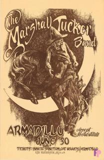 Armadillo World Headquarters, Austin, TX 6/30/74
