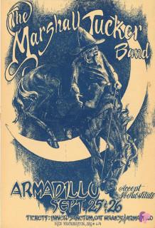 Armadillo World Headquarters, Austin, TX 9/25-26/74
