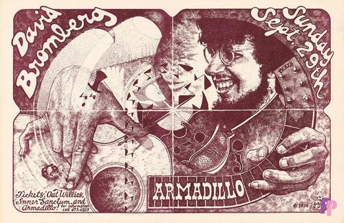 Armadillo World Headquarters, Austin, TX 9/29/74