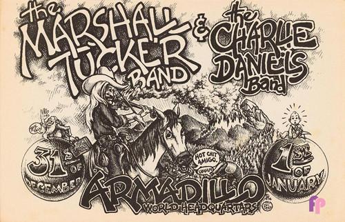Armadillo World Headquarters, Austin, TX 12/31/74 & 1/1/75