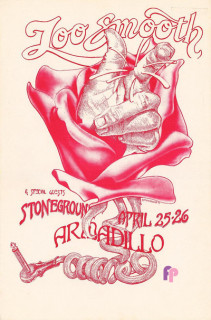 Armadillo World Headquarters, Austin, TX 4/25-26/75