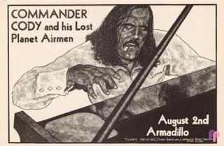 Armadillo World Headquarters, Austin, TX 8/2/75