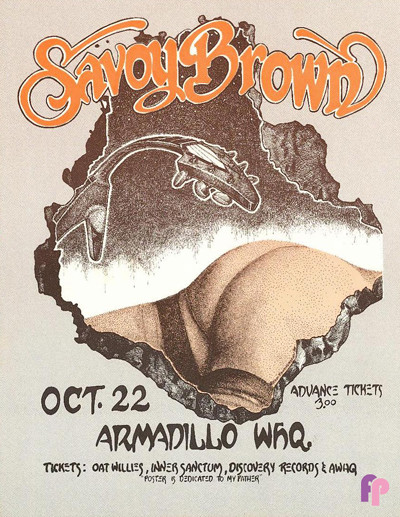 Armadillo World Headquarters, Austin, TX 10/22/75