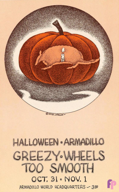 Armadillo World Headquarters, Austin, TX 10/31 & 11/1/75