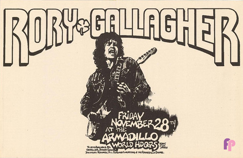 Armadillo World Headquarters, Austin, TX 11/28/75
