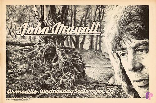 Armadillo World Headquarters, Austin, TX 9/28/76