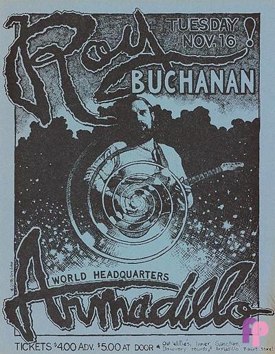Armadillo World Headquarters, Austin, TX 11/16/76