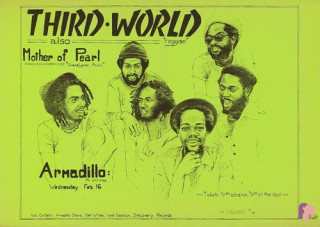 Armadillo World Headquarters, Austin, TX 2/16/77