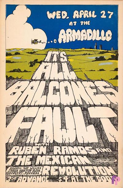 Armadillo World Headquarters, Austin, TX 4/27/77