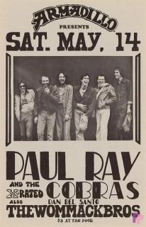 Armadillo World Headquarters, Austin, TX 5/14/77