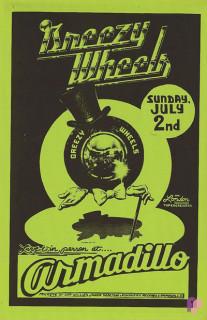 Armadillo World Headquarters, Austin, TX 7/2/78