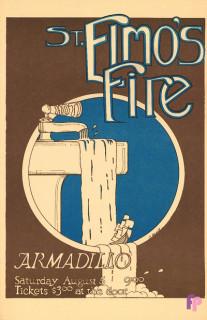 Armadillo World Headquarters, Austin, TX 8/5/78