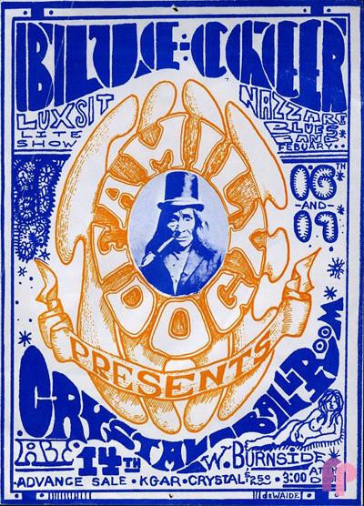 Crystal Ballroom, Portland, Oregon 2/16-17/1968
