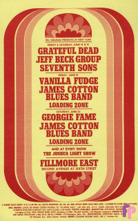 Fillmore East 6/14-15, 6/21, 6/22/68