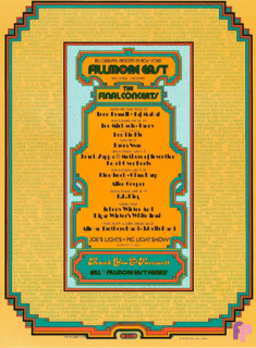 Fillmore East 3/8-6/27/71