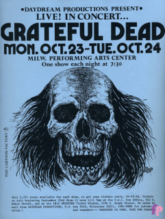 Milwaukee Performing Arts Center 10/23-24/72