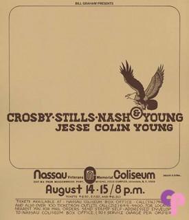 Nassau Coliseum, Uniondale, NY 8/14-15/74