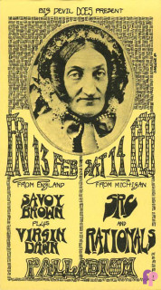 The Palladium Birmingham, MI 2/13-14/70