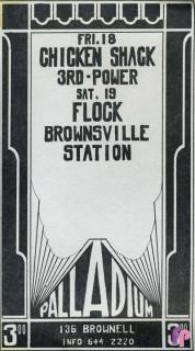 The Palladium Birmingham, MI 9/18-19/70