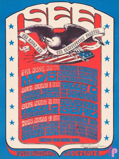 The See, Detroit, MI 6/30-7/4/67