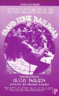 Upstairs Ballroom Lima, OH 1/24/70