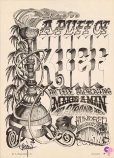 Head Shop Poster Circa 1967
