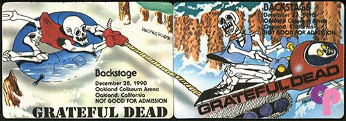 Oakland Coliseum, Oakland, CA 12/27-28/90
